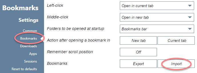 ブラウザ「Opera25.0にfirefox等からブックマークインポート」 - TwoDolls