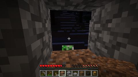 Minecraft「始めました」