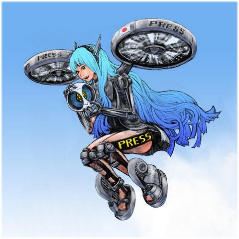 絵「視覚報道」ShiKaku HoDo