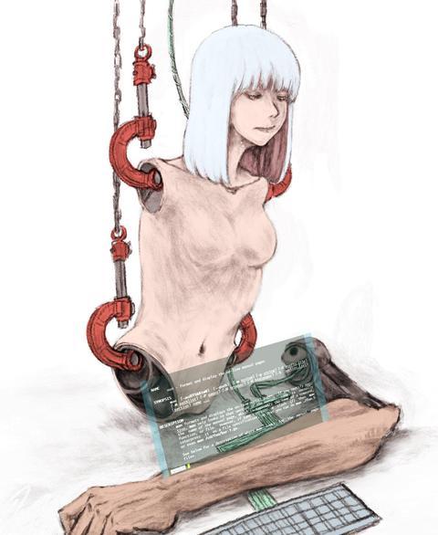 絵「電気羊夢」DenKi YouMu