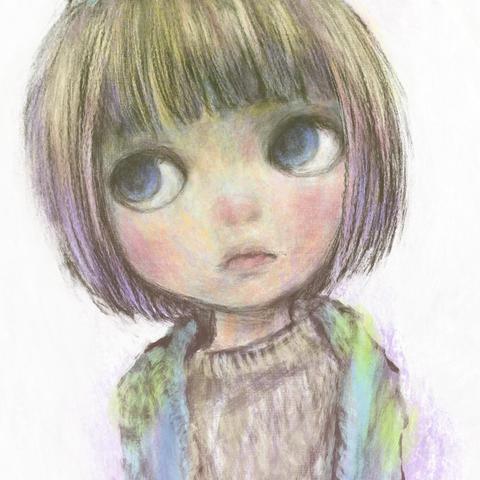 絵「人形少女」NinGyo ShoJo