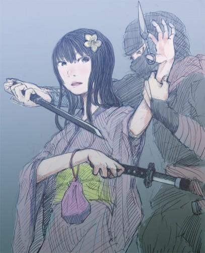 忍者と乙女の拮抗