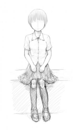base body + school uniform