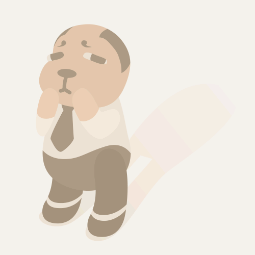 old man character