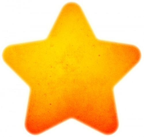star pentagram texture