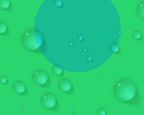 water drops sample
