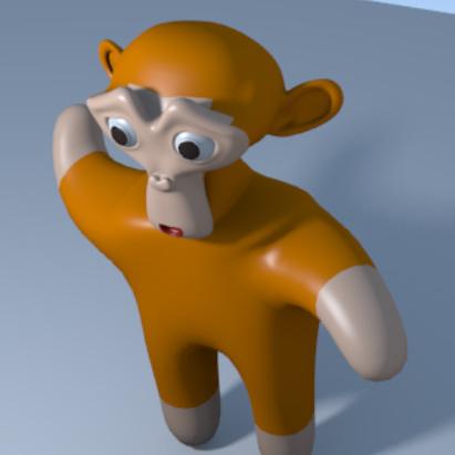 blender monkey