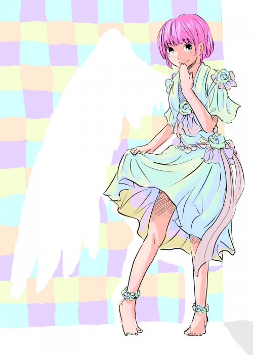 colorful angel